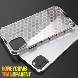 Shockproof Armor Case For iphonePhone 11 Pro Max SE2 Honeycomb Airbag Back Cover For iphonePhone XR XS Max 6 6s 7 8 Plus SE 2020