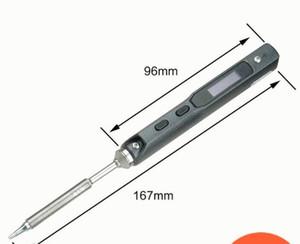 2019 новый портативный 65W программируемый электрический паяльник TS100 стильный мини цифровой ЖК-дисплей с паяльником BC2