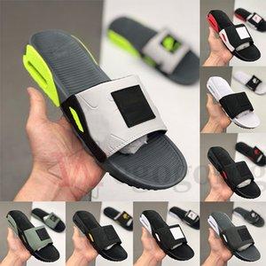 핫 새로운 90 슬라이드 그레이 볼트 슬리퍼 블랙 화이트 그레이 남성의 90 년대 쿨 연기 캠든 남성 신발 비치 샌들 슬리퍼 플립 플롭 스포츠