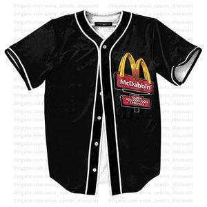 2020 neue LOGO Shirt Serie bequem und atmungsaktiv loses beiläufigen Sommer-T-Shirt Parodie Baseball Uniform