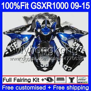 Инъекция для Suzuki GSXR 1000 2009 2010 2011 2012 2014 2015 2011 302HM.55 GSX R1000 K9 GSXR1000 09 10 11 12 13 15 16 Blue Blue Hot Hot