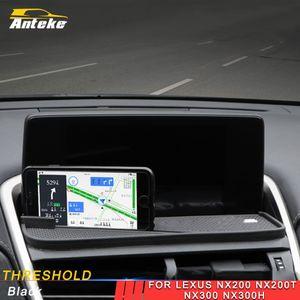 لكزس NX200 NX200t NX300 NX300h 2017-2019 سيارة التصميم وحة حصيرة المضادة للانزلاق والاكسسوارات حصيرة حامل الهاتف وسادة الداخلية