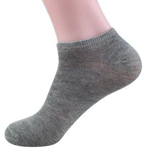 Cool Elastic Outdoor Bamboo Fiber Mens Sports Socks Loafer Liner Low Cut No Show Black Boat Socks