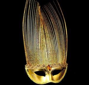 Maskerade Maske Karneval Hinweis Maske für Frauen Kinder Venezianische Maske Half Face Venice Ball Masken für Halloween Weihnachten