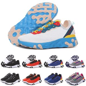Designer Kids React Element 55 87 Boys Girls Running Shoes Outdoor Children Sneakers Baby Trainers Breathable Lightweight Christmas present