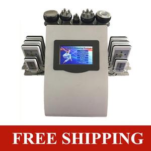 Strong 40K Ultrasonic corpo cavitação pele RF esculpir vácuo emagrecimento eficaz Firm corpo elevador frete grátis máquina fotão vermelho