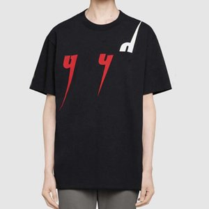 19SS Sommer T-Shirt Logo Männer T Made In Italy Mode Designer Kurzarm Buchstaben Gedruckt Luxus T-shirt Frauen Kleidung S-2XL