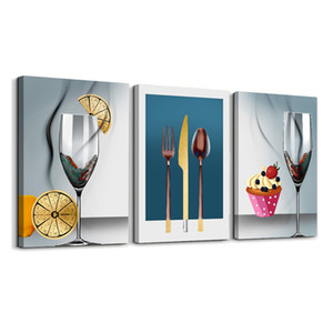 3 Wall Art Modern Art Paintings With Wooden Frames Printed On The Canvas For Hanging Home Decor For Living Room Decoration