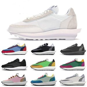 2020 Hot fashion sacai ldv ld waffle men women running shoes red white grey Gusto Varsity Blue trainers sports sneakers 36-45