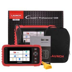 AutoVIN 서비스 평생 무료 업데이트 온라인으로 엔진 변속기 ABS SRS 진단을위한 CRP123X OBD2 코드 리더를 시작합니다