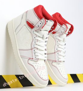 Nouveau 1 High Bred OG Toe Chicago Banned Royal Game Basketball Chaussures Hommes Top 3 Backboard Brisé Ombre Multicolor Chaussures de sport j0458