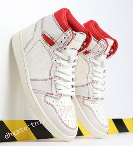 Yeni 1 Yüksek OG Bred Burun Chicago Oyun Kraliyet Basketbol Ayakkabıları Erkek 1s İlk 3 Shattered Arkalık Gölge Çok renkli Sneakers j0458 Yasaklı