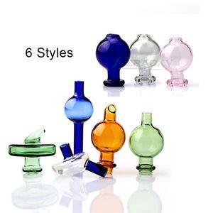 Beracky 6 Styles Glass Carb Caps Directional Bubble Ball UFO Cap Carb Kappen für Quartz Banger Nägel, Glas, Wasser Bongs Dab Rigs Pipes