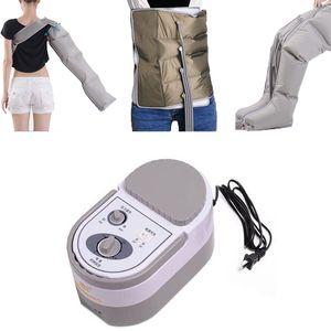 Nueva máquina de masaje de presión de aire Masaje de cuerpo entero Liberación Edema Varicosidad Miofagismo Cuerpo con brazo y pierna Manga cintura