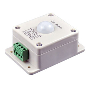 DHL Shipping DC12V-24V 8A Automatic PIR Switch Control Motion Sensor Switch Controller for LED Strip Light