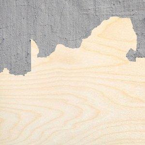 Южная Африка силуэт Laser Cut Out Wood Shape Craft Supply Неполное Cut Art Projects Ручной инструмент Инструменты Крафт украшения подарков Декупаж