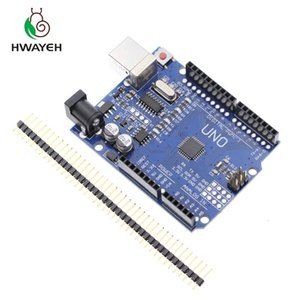 Freeshipping 10PCS high quality One set UNO R3 CH340G+MEGA328P Chip 16Mhz for UNO R3 Development board (NO USB CABLE)