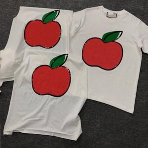 T-Shirt für Frauen des beiläufigen 2020 Sommer-Kurzschluss-Hülsen-Frucht-Druck-T-Shirt Mode für Frauen-T-Shirt SL20011701