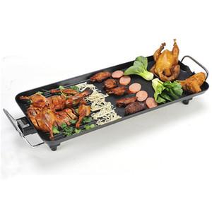 Freie Verschiffen Qualitäts-Smokeless Nonstick Elektro BBQ Grill Indoor Grill Roast Ausrüstung für Family Party