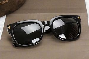 럭셔리 최고 qualtiy 새로운 패션 211 톰 선글라스 남자 여자 에리카 안경 포드 디자이너 태양 안경 원래 FT 상자 @ 875