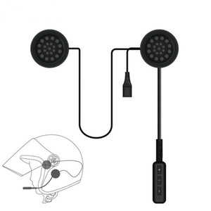 Мотор Беспроводная Bluetooth-гарнитура мотоциклетный шлем Наушники Наушники динамик громкой связи управление музыкой микрофон наушники для смартфона
