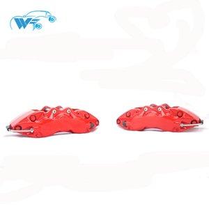 KOKO YARIŞ otomobil parçaları yüksek performanslı WT9040 6 pot 18-19 inç araba tekerleği boyutu için büyük kumpas kırmızı