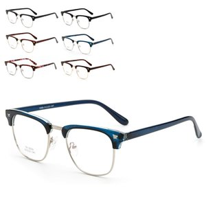 الجملة إطار نظارات الرجال النساء نظارات النظارات RX ريم نصف