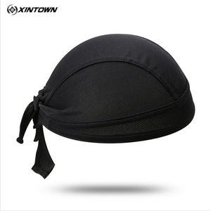 XINTOWN Polyester Radmütze Sweatproof Sonnenschutz Kopfbedeckung Bike Team Schal Coif Fahrrad Bandana-Piraten-Stirnband