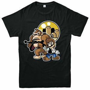 Han Solo ve Chewbacca Tişörtlü Top tarzında Mario ve Donkey Kong