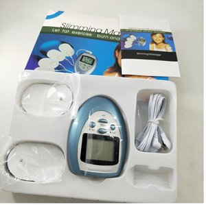 전신 충격 요법 얼굴 바디 슬리밍 마사지 자극 근육 전기 마사지 키트 휴대용 슬림 장비 Y-1018 DHL 무료 배송