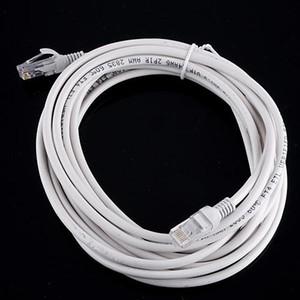 100pcs 10m RJ45 to RJ45 Lan Cable Ethernet Patch Link Network Lan Cable white DHL free