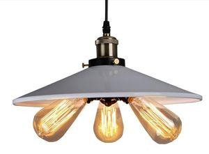 Persönlichkeit American Country LED Vintage Pendelleuchte Vintage RH Loft Warehouse Pendelleuchte 3 Köpfe Droplight Iron Art Lighting