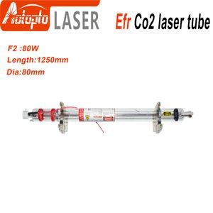 Efr Tubo laser CO2 F2 80W-95W per macchina per incisione di marcatura laser CO2 Macchina per imballo scatola di legno