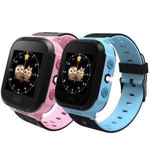 GPS Children Smart Watch Anti-Lost Flashlight Baby Smart Wristwatch SOS Call Location Device Tracker Kid Safe vs Q528 Q750 Q100 Q42 DZ09 U8
