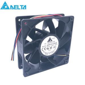 40pcs Original Delta QFR1212GHE 12V 2.70A 12038 12CM Bitcoin Miner FAN 12cm PWM Plus Puissant pour Bitcoin Mining