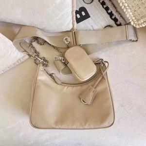 sac à bandoulière en toile Hobo pour les femmes sac poitrine dame chaînes fourre-tout sacs à main sac messenger sac à main presbytes dame de toile de gros