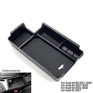 Автомобильные аксессуары стилизации интерьера Дверные ручки Подлокотники Коробка для хранения Организатор чехол для A3 S3 A4 B8 B9 A5 S5 Q2 Q3 Q5 Q2L Q5L