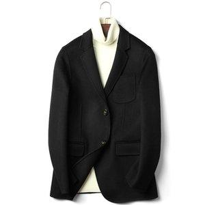 for Double Sided Jackets Men Autumn Winter Top Quality Warm Wool Blazer De Hombre 2020 Abrigo D-20-2628 MF646