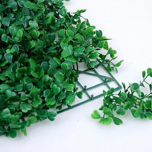 25 * 25CM العشب الاصطناعي النباتات العشب العشب الاصطناعي السجاد مروج الأحمق الديكور حديقة البيت الحلي البلاستيك العشب السجاد EEA1