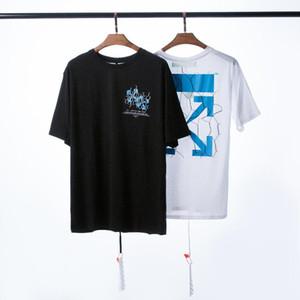 20ss Primavera de lujo para hombres y mujeres marca de diseño camiseta verano hip hop moda hombres camisetas de manga corta unisex tops camisetas casuales q7