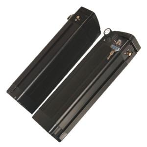 Elektrikli Bisiklet için USB bağlantı noktası 5.0V Pil Paketinin iyon 36V10Ah Gümüş Balık tipi Alüminyum Siyah gövde Lityum