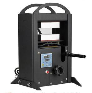5 tonnellate di piastre di riscaldamento doppio idraulico pressa di colofonia stile manuale olio di cera vape estrattore presse pressa di calore macchina fai da te