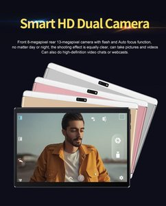DHL 2020 NEW tablet pc High quality Octa Core 10 inch MTK6582 IPS capacitive touch screen dual sim 3G tablet phone pc android 7.0 4GB 64GB