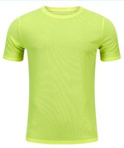 2019 men's tight clothes running short-sleeved quick-drying T-shirt 2254