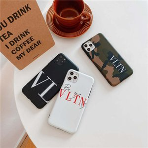 Luxury Leather Case For iPhone 11 Pro max X XS Max XR 8 7 6S Case Brand Back Phone Cover Protection Coque