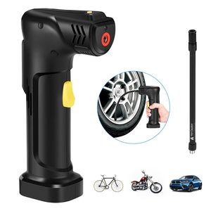 자전거 자동차에 대한 최신 AP3 휴대용 야외 스마트 풍선 펌프 멀티 기능 HD LCD 디지털 디스플레이 무선 스마트 에어 펌프