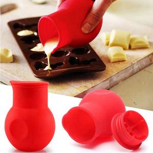 ذوبان الشوكولاته وعاء العفن زبدة حليب الخبز سيليكون صب كأس لمطبخ أدوات الطبخ