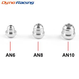 Günstige Kraftstoffversorgung Behandlung 6 AN8 AN10 Aluminium Weld Auf Fittting Bung Nut Ventildeckel fangen Hohe Qualität