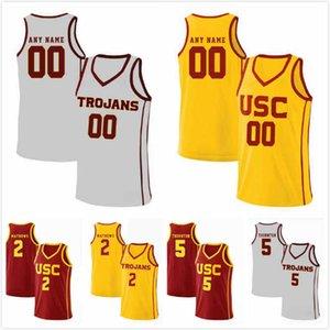 Jonah Mathews Jersey 2 Nick Rakocevic 31 Shakquan Aaron 0 Derryck Thornton 5 Devin Fleming 12 McKay Anderson 15 USC Trojans Jerseys S-3XL