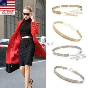 2020 Пояс металла Женской Моды для платья женщин способа золота Full Metal Plate Зеркало мода высокой талия пояс Один размера